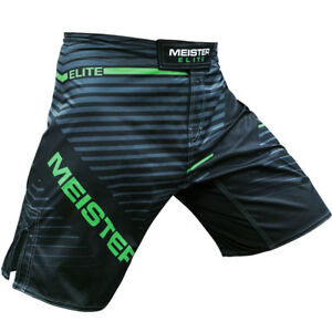 MEISTER ELITE FLEX BOARD SHORTS LIVEWIRE GREEN - MMA Fighter Boxing Gym Workout