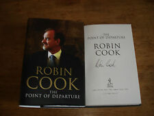 The Point of Departure - Robin Cook: 1st SiGNED IRST EDITION,HARDBACK 2003