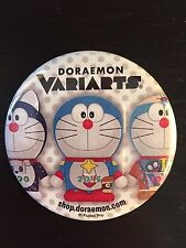 Doraemon Variarts character pin - New condition Fujiko Pro Disney Xd