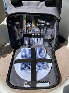 2 Person Picnic Basket Back Pack
