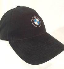 BMW Lifestyle Logo Black Baseball Cap Trucker Hat Two Texture Adjustable Strap