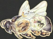 MALAYSIA 2019 HONEY BEES IN MALAYSIA Stamp Sheet - Odd Shape Stamp