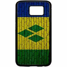 Samsung Galaxy Case with Flag of St Vincent Options