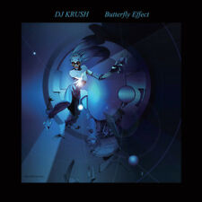 DJ Krush ‎– Butterfly Effect blue 2 Vinyl & Poster only 1000 copies rare sealed
