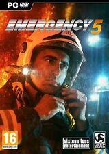 Emergency 5 (PC DVD) NEW & Sealed