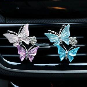 Butterfly Freshener Clip Car Aromatherapy Vent Clips Car Air Vent Decoration