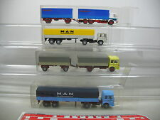 Ai694-1# 4x Wiking h0 Camion/autotreno/CAMION MAN: forza economica etc
