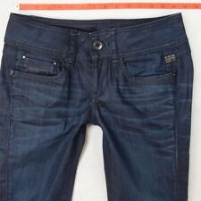 Ladies Womens G-Star NEW FORD STRAIGHT Stretch Blue Jeans W28 L30 UK Size 8
