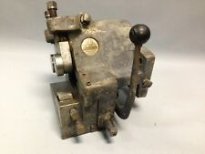 Gisholt Warner & Swasey Tool 1500A Machinist Metalworking Toolholder Box Turret
