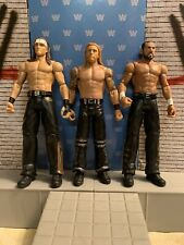 WWE WWF WCW ECW AEW NXT MATTEL BASIC THE THREE MAN BAND #1 OPEN/LOOSE FIGURE