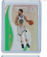 2019-20 Panini Illusions emerald parallel clear cut astounding Steph Curry
