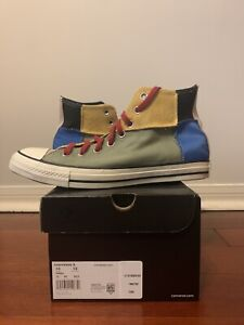 Converse Chuck Taylor All Star Hi BHM Sneakers 168274C Size 10 Mens