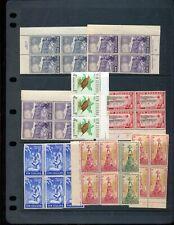 New Zealand Health Stamps Blocks Birds MNH MH(Appx 100)ZZ1119