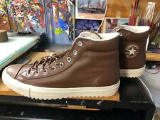 Converse CTAS Boot PC HI Dark Clove Brown Leather Size US 10 Men 157685C New