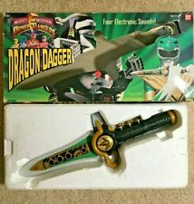 Power Rangers - Dragon Dagger w/ box - BAN DAI 2251 - 1994- COOL!