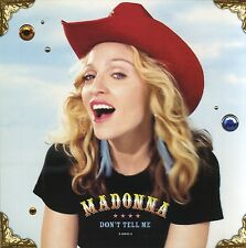 MADONNA Don't Tell Me (2000 U.S. 2-Track CD Single w/Painted Label)