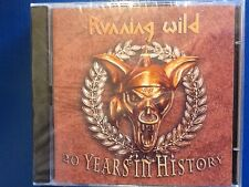 RUNNING. WILD.   2 CDs.       TWENTY. YEARS. IN.  HISTORY.