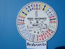 Pfaff 260, 262, 360, 362 & 368 Automatik Nähmaschine Muster-scheibe Schablone