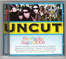 (GX349) The Playlist Aug 2006, 16 tracks various artists - 2006 Uncut CD