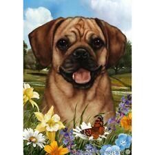 Summer Garden Flag - Fawn Puggle 181231