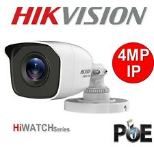 Hikvision Hiwatch IP Camera 4MP IPC-B140 POE OutDoor NightVision UK Specs