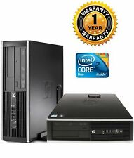 HP 6000 Pro SFF COMPUTER INTEL C2D E7500 2.93Ghz 4GB Ram DVD 40GB HD NO OS