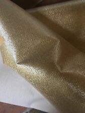 """Gold Vinyl Fabric from Majilite- 49"""" wide- 2 yard cut"""