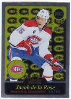 2015-16 O-Pee-Chee Platinum Hockey RETRO RC #R74 Jacob de la Rose Canadiens