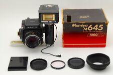 NM Mamiya M645 1000S Medium Format Camera w/ Sekor C 80 mm f/2.8 from Japan 80