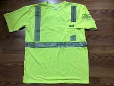 Waste Management Yellow Reflective Safety Shirt Class 2 Level 2 Life Changer XL