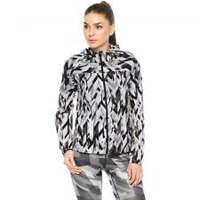 Nike Women Light Print Jacket Water resistance Black Grey CHRISTMAS GIFT M