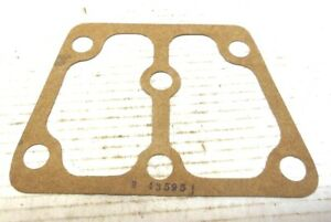 JOHN DEERE TRACTOR EQUIPMENT ENGINE CYLINDER HEAD END PLATE COVER GASKET R43595
