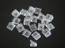 Lego 20 briques inclinées transparent Neuf /New Trans-clear slopes 1x1x2/3 54200