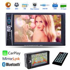 2DIN Autoradio Bluetooth MP5 FM CarPlay MirrorLink HD 6,6 TouchScreen USB/TF RDS