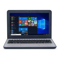 "Asus VivoBook Rugged 11.6"" Laptop Intel 2.4GHz CPU 64GB SSD Webcam BT Win 10"