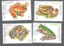 Australia-Frogs set 2018 fine used cto
