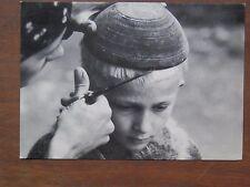 Vecchia foto cartolina d epoca sul set de Gli Ultimi fotografie da per capelli