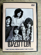 Led Zeppelin ‎– The Song Remains The Same  - DVD musicale