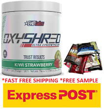 EHPLABS OXYSHRED EHP LABS OXY SHRED THERMOGENIC FAT BURNING.FREE EXPRESS SHIP