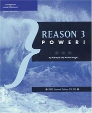 """""""Reason 3 Power !"""" Book/Cd-Brand New On Sale-For Home Recording Studio Musician!"""