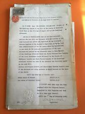 More details for admiralty william bushell 1917 hermitage harrow probate estate lot r242782