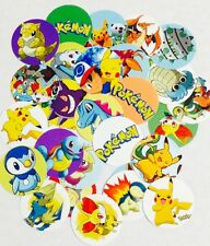 "60 Pokemon 1"" inch Precut Bottle Cap Images for DIY Projects Bows FREE SHIPPING"