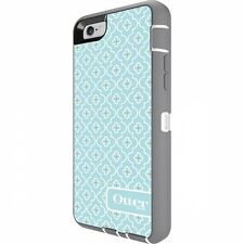 "OtterBox Defender iPhone 6 / 6S 4.7"" Case & Holster Moroccan Sky Blue OEM New"
