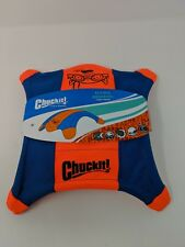 2 pack New Chuckit! Flying Squirrel Glow in Dark Fetch Toys (LARGE)