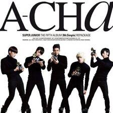 SUPER JUNIOR [A-CHA] 5th Repackage Album CD+Broschüre K-POP SEALED