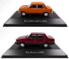 Set of 2 Fiat Regatta + 128 IAVA - 1:43 SALVAT Autos Diecast Model Car AR30+36