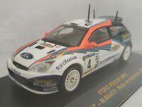 1/43 FORD FOCUS WRC SAINZ CATALUNYA 2002 RALLYE IXO RALLY CAR ESCALA DIECAST
