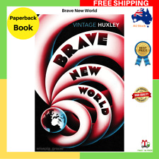 NEW Brave New World By Aldous Huxley Paperback Book FAST FREE SHIPPING AU
