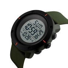 Kids Boys LED Sports Digital Watch Outdoor Waterproof Alarm Count-down Stopwatch
