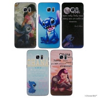 Lilo and Stitch Gel Phone Case for Samsung Galaxy S7 Edge G935 Silicone Cover